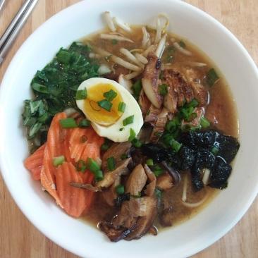 Asian Noodle Bowl.